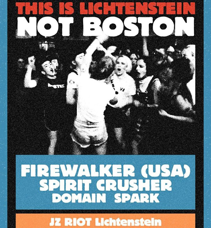 Live in Konzert mit FIREWALKER (usa) | SPIRIT CRUSHER | DOMAIN | SPARK @JZ Riot