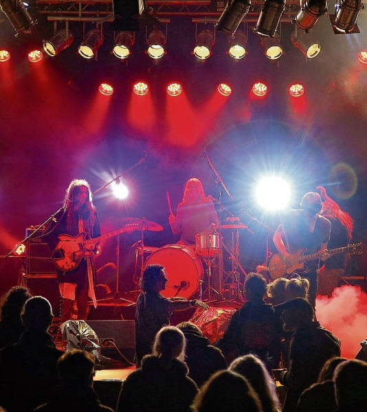Die Band Suns of Thyme aus Berlin