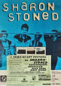 1. VOICE OF ART-Festival mit Sharon Stoned, Elektrosushi, Monoland, Dirty Spoon